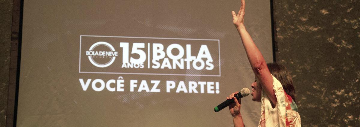 Culto de 15 anos BDN – Santos. O culto em comemoração ao aniversário de 15  anos da Igreja Bola de Neve ... 3b789a09d9e97