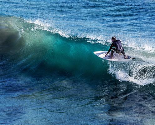 Surf na Baixada Santista: Porta do Sol