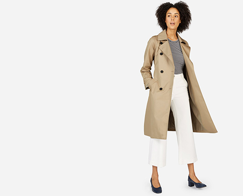 A versatilidade do Trench Coat